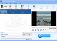 Lionsea AVI To WMV Converter Ultimate screenshot