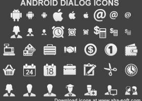 Android Dialog Icons screenshot