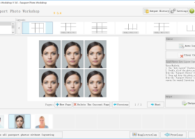 Passport Photo Maker Pro screenshot