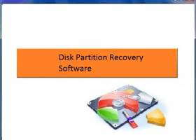 Disk Partition Recovery Software screenshot