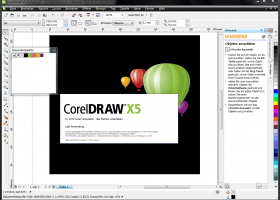 CorelDRAW X5 screenshot