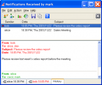 Akeni Jabber Client (XMPP) Corporate IM screenshot