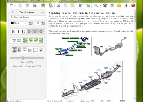SSuite Office - QT Writer Express screenshot