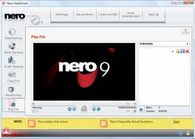Nero 9 screenshot