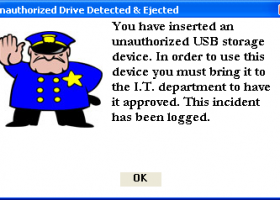 USB Drive guard screenshot