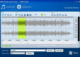 MP3 Cutter Joiner Free screenshot