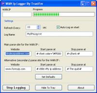 Wan Ip Logger - Windows 8 Downloads