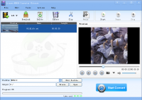 Lionsea MPEG4 Converter Ultimate screenshot