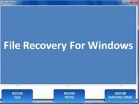 File Recovery For Windows screenshot