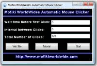 Automatic Mouse Clicker MWW screenshot