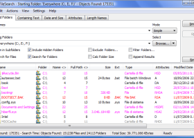 Portable UltraFileSearch screenshot