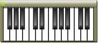 Virtual Piano Windows Gadget screenshot
