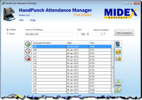 HandPunch Attendance Manager screenshot