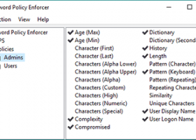 Password Policy Enforcer screenshot