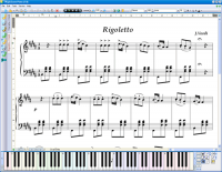 MagicScore Virtual Piano screenshot