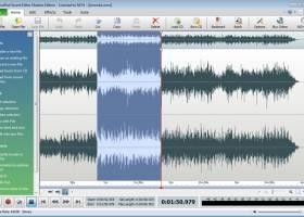 Wavepad Free Audio Editing Software screenshot