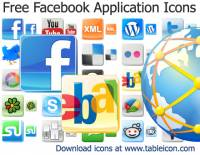 Free Facebook Application Icons screenshot