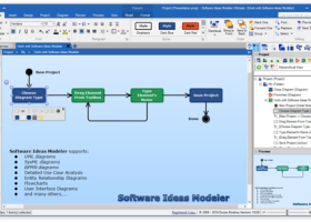 Software Ideas Modeler Portable screenshot