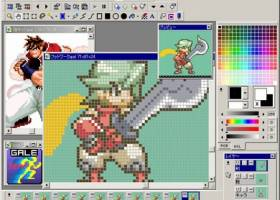 GraphicsGale screenshot
