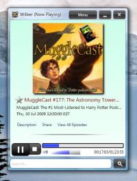 Wilber Podcast Player screenshot