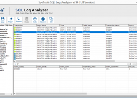 SysTools SQL Log Analyzer - Windows 8 Downloads