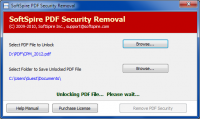 PDF Owner Password Remover screenshot