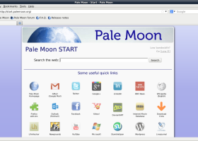 Pale Moon x64 screenshot