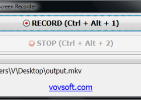 Vov Screen Recorder screenshot