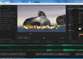 Sayatoo SubtitleMaker screenshot