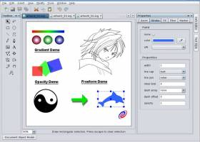 Sketsa SVG Editor screenshot