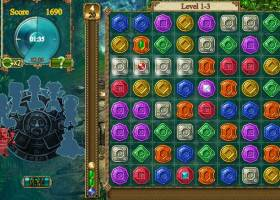 Treasures of Montezuma HTML5 screenshot