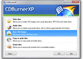 CDBurnerXP - Windows 8 Downloads