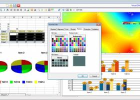 Visual DAQ DaqPlaner - Real-Time Data-Center Monitoring Software screenshot