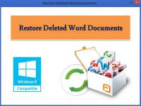 Restore Deleted Word Documents screenshot