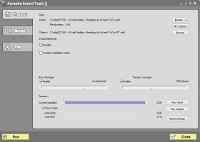 Karaoke Sound Tools screenshot