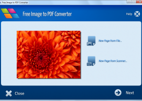 Free Image to PDF Converter screenshot
