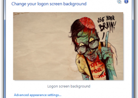 Logon Screen screenshot