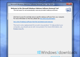 Windows Malicious Software Removal Tool  - 32 bit screenshot