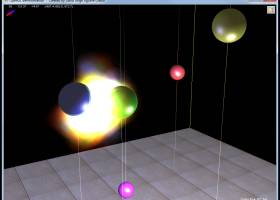 OpenGL demo screenshot