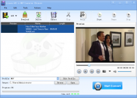 Lionsea AVI To MOV Converter Ultimate screenshot