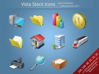 Vista Stock Icons screenshot