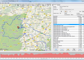 RouteConverter screenshot