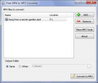 Free MP4 to MP3 Converter - Windows 8 Downloads
