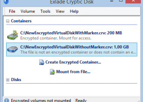 Cryptic Disk - Windows 8 Downloads