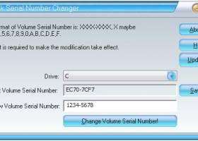 Disk Volume Serial Number Changer - Windows 8 Downloads