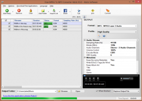 Free MPEG To MP3 Converter 4dots screenshot