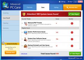 Ключи для advanced pc care
