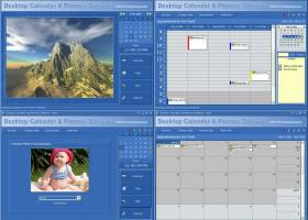 Desktop Calendar and Planner Software screenshot