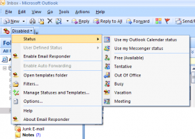 Email Responder for Microsoft Outlook screenshot