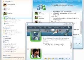 Windows Live Messenger 2009 screenshot